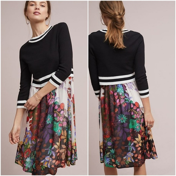 f56bf4e8b38 Anthropologie Dresses   Skirts - Anthropologie Maeve Osceola Sweater Dress